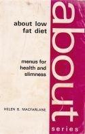 About low fat diet - menus for health and slimness