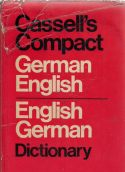 Cassells New Compact German English - English German Dictionary