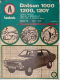 Datsun 1000, 1200, 120Y, Sunny (1968 - 1978) workshop manual