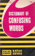 Dictionary of Confusing Words