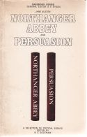 Northanger Abbey and Persuasion A Selection of Critical Essays