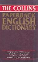 Paperback English dictionary