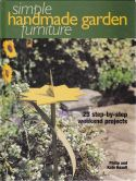 Simple Handmade Garden Furniture
