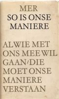 So is onse maniere
