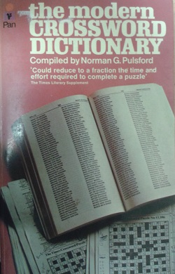 The Modern Crossword dictionary