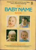 The baby name book -more than 3000 names