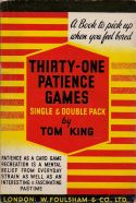 Thirty one patience games