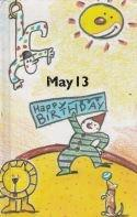 13 May - What happpend on your birthday