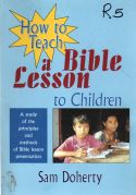 a Bible lesson to children - How to teach principles